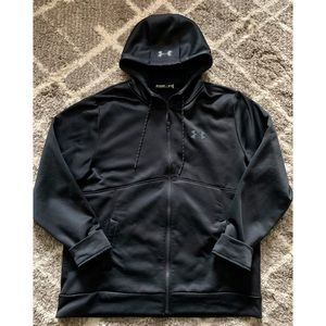 UNDER ARMOUR BLACK STORM COLD GEAR ZiP JACKET XL